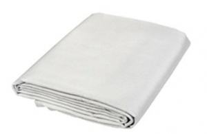 Kronos deken 200x300 oog Voorzien van circa 10 ogen 1 zijde ALU-folie