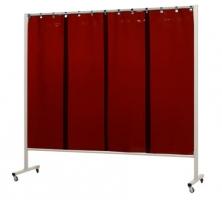 Frame Omnium het frame is 210cm breedt en 200cm hoog en verrijdbaar doormiddel van wieltjes.