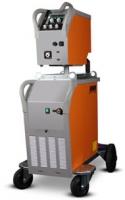 Gebruikte Rehm Megapuls 330W Watergekoelde Puls Mig machine met losse koffer, tussenpakket 10m, Massakabel 70mm2, WP-reduceer, Migtoorts 555 4m, haspe