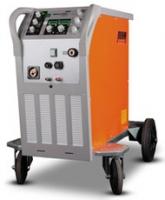 Gebruikte Rehm Megapuls Focus 230WS, watergekoelde puls Mig machine, uitgevoerd met 0,8/1,0 wieltjes staal migtoorts evo 401/4 meter, haspeladapter, r