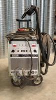 Gebruikte Oerlikon CPGL 220 lasmachine lasapparaat