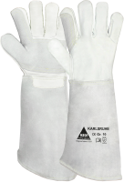 Hase Mig lashandschoen Karlsruhe maat 10. Rundleder handschoen met een verstevigde duim.
