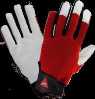 Werkhandschoen Power Grip III maat 8 met klittenband sluiting