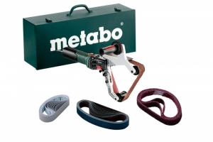 Gebruikte Finitube Metabo s/n:5030016266. Metabo RBE 12-180 inclusief stalen koffer.