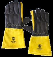 Roosterweld Mig-Pro Mig lashandschoen maat 10 kleur zwart-geel