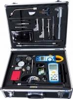 lasinspectie koffer - ampere meter 1000amp - gasmeter - inspectielamp - en diverse inspectiegereedschappen