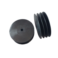 18x50mm 4-lips schijf siliconenschijf hittebestendig Binnenmaat pijp: 43-49mm