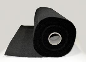 Lasdeken (medium) op rol 1x25 meter glasvezel vermiculiet bedekt, temperatuurbestendig tot 750 graden.