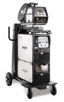 Gebruikte Phoenix 405 Expert 2.0 puls sn:090-005353-00502/487766 compleet met: Aanvoerkoffer Drive4X, Tussenpakket 10m, koelunit, Migtoorts 451W 4m, M