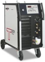 Gebruikte EWM Tetrix 351 AC/DC Watergekoeld 350A AC/DC. Compleet met waterkoeling, tigtoorts 450W/8m, Massakabel 70mm2, stekker 32A-5p, EWM tussenpakk